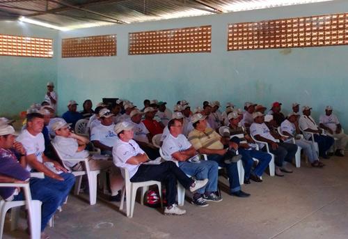 O encontro aconteceu em Canabrava, no município de Malhada