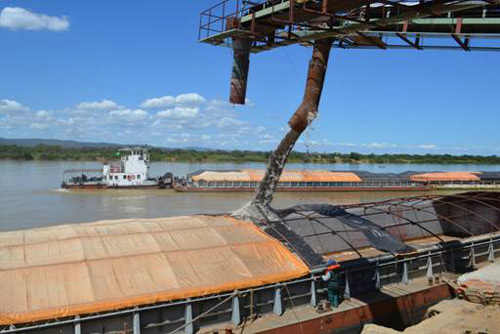 Com a hidrovia em pleno funcionamento será possível uma redução no valor do frete