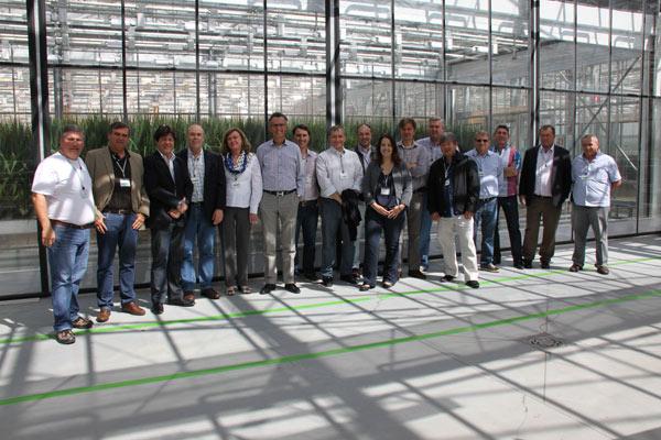 Comitiva visitou laboratórios de pesquisa e desenvolvimento da Bayer