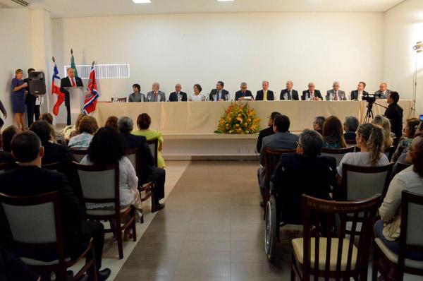 A cerimônia aconteceu no Hotel Morubixaba em Barreiras