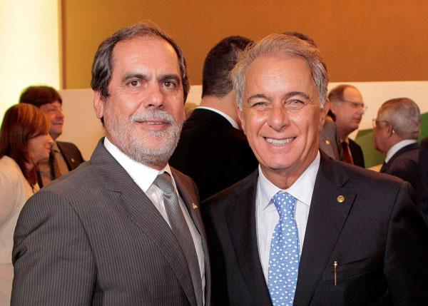 Presidente da Abrapa, João Carlos Jacobsen e o novo presidente da FPA, Marcos Montes