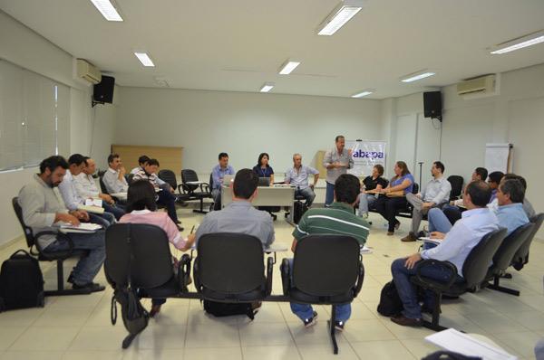 Reunião do Grupo Técnico do Programa, no dia 30