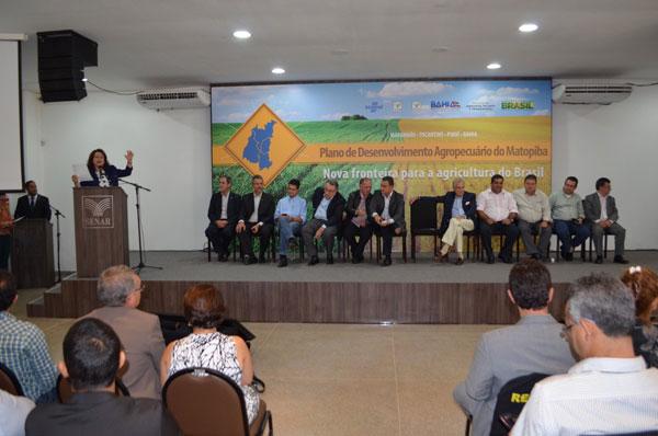 Plano de Desenvolvimento Agropecuário do Matopiba é lançado na Bahia