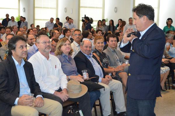 Representantes das entidades agrícolas do Estado participaram do evento