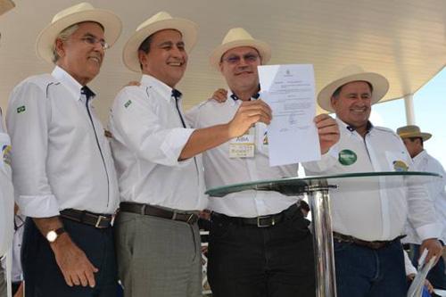 Humberto Santa Cruz, Rui Costa, Celestino Zanella e Júlio Cézar Busato
