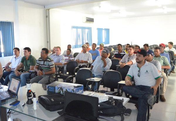 O treinamento aconteceu no Centro de Treinamento Parceiros da Tecnologia
