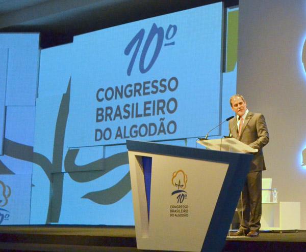 Presidente da Abrapa e produtor da Bahia, João Carlos Jacobsen