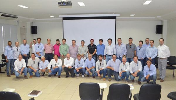 A reunião aconteceu no auditório da Abapa, em Barreiras