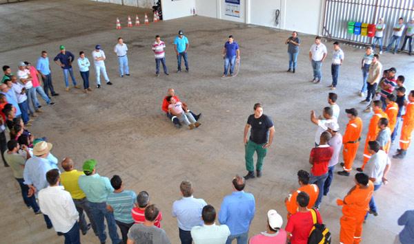 A iniciativa aconteceu no Centro de Treinamento, em Luís Eduardo Magalhães