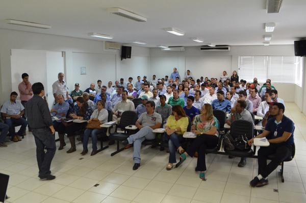 O evento aconteceu no auditório da Fundação Bahia