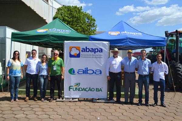 A Abapa dividiu estande com Aiba e Fundação Bahia
