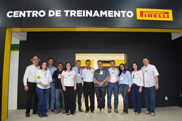 Laboratório de Pneus da Pirelli instalado no Centro de Treinamento
